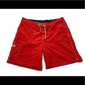 Polo Ralph Lauren Men's Red Board Shorts